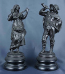 Statuettes; Late 19th – Early 20th Century; 984/70.3-4