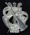 Badge; Shop of William Rose Bock; c.1920s; 2006/110.2