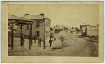 [Stafford Street (Bank of New Zealand corner), Timaru]; 1867-1868; 2171