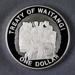Reserve Bank of New Zealand 1999 One Dollar Silver