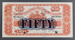 National Bank of New Zealand 1924 Fifty Pounds