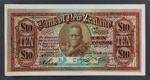 Bank of New Zealand 1926 Ten Pounds