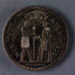 Reserve Bank of New Zealand 1935 Waitangi Crown Proof