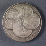 1967 Numismatic Society Silver Medal