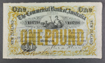 Commercial Bank of Australia 1918 One Pound