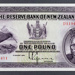 Reserve Bank of New Zealand 1934 One Pound First Issue
