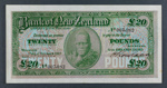 Bank of New Zealand 1926 Twenty Pounds
