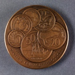 1967 Numismatic Society Copper Medal