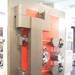 Replica vault door on display in the Reserve Bank of New Zealand Museum
