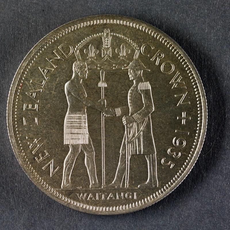 1935 Pattern Waitangi Crown