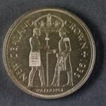 Reserve Bank of New Zealand 1935  Waitangi Crown