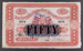 National Bank of New Zealand 1921 Fifty Pounds