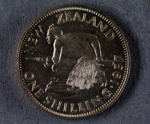 Reserve Bank of New Zealand 1937 One Shilling Proof