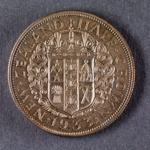 Reserve Bank of New Zealand 1933 Half Crown Proof