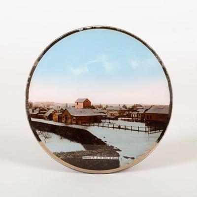 Plate, 1906 Otautau Flood; Unknown Photographer; 1906; OT.2015.10.2