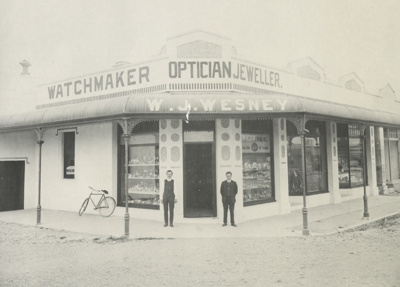 Photograph, Wesney's Jewellery Shop; Unknown Photographer; 1918; OT.2010.139