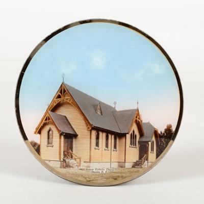 Plate, Otautau Catholic Church; Unknown Photographer; 1905; OT.2015.10.1
