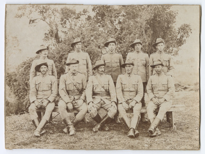 Photograph, Wallace Mounted Rifles; Unknown Photographer; 1917?; OT.2010.51
