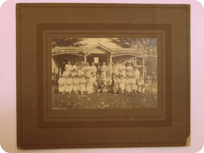 New Brighton v Sumner Inter-Borough Tennis Contest; April 1922; 01/2006/812/b