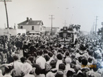 The last Tram into New Brighton 1952 (1); Purchased from the Star-Sun Newspaper, Christchurch; 1952; 01/2006/812/i