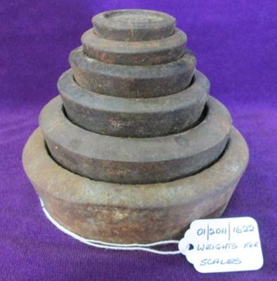 Weights; 01/2011/1622