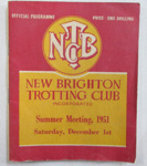 New Brighton Trotting Club Inc., Summer Meeting 1951 - official programme; Simpson & Williams, Christchurch; 1951; 01/2007/983