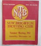New Brighton Trotting Club Inc., Summer Meeting 1951 - official programme; Simpson & Williams, Christchurch; 1951; 01/2007/983