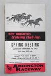New Brighton Trotting Club programme; Simpson & Williams, Christchurch; 1969; 01/2007/985