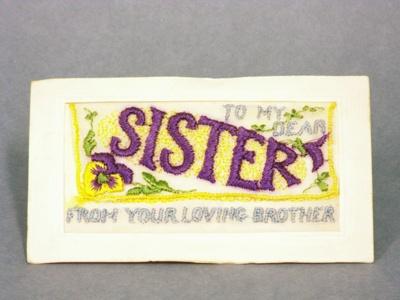 Postcard, 1914 - 1918, 10169