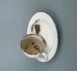 Cup and saucer; 14828
