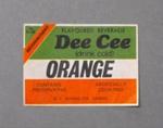 Soft drink label, D.C. Marsh Ltd    Hairini, c1970s, ARC3608