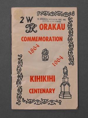 Orakau Commermoration 1864-1964, PA2