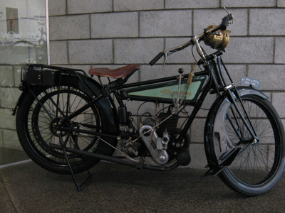 Alldays and Onions Motorbike; Alldays and Onions; 1914