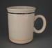Mug - Banded; Crown Lynn Potteries Limited; 1984-1989; 2009.1.524