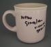 Mug - trial; Crown Lynn Potteries Limited; 1986-1989; 2008.1.1757