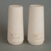 Salt and pepper shaker set - bisque; Crown Lynn Potteries Limited; 1966-1989; 2008.1.134.1-2