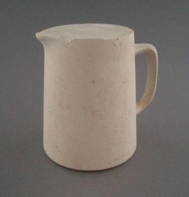 Plaster model - jug; Crown Lynn Potteries Limited; 1948-1989; 2008.1.2674