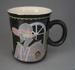 Mug - Woman; Crown Lynn Potteries Limited; 1984-1989; 2009.1.530