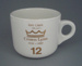 Cup - staff service commemorative; Crown Lynn Potteries Limited; 1988-1989; 2008.1.1874