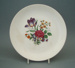 Luncheon plate - Posy pattern; Crown Lynn Potteries Limited; 1960-1969; 2008.1.96