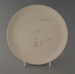 Luncheon plate - bisque; Crown Lynn Potteries Limited; 1982-1989; 2009.1.1165