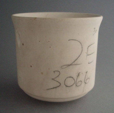 Cup - bisque; Crown Lynn Potteries Limited; 1984-1989; 2008.1.1237