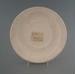 Saucer - bisque; Crown Lynn Potteries Limited; 1981-1989; 2009.1.1318