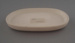 Dish - bisque; Crown Lynn Potteries Limited; 1972-1982; 2009.1.1138