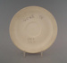 Saucer - bisque; Crown Lynn Potteries Limited; 1981-1989; 2009.1.1275