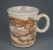 Mug - trial; Crown Lynn Potteries Limited; 1984-1989; 2008.1.1780