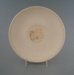 Coffee saucer - bisque; Crown Lynn Potteries Limited; 1960-1975; 2009.1.1323