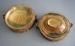 Ram press cases - soap dish; Crown Lynn Potteries Limited; 1984-1985; 2009.1.1534.1-2
