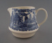 Cream jug - Blue Willow pattern; Crown Lynn Potteries Limited; 1983-1989; 2008.1.2204