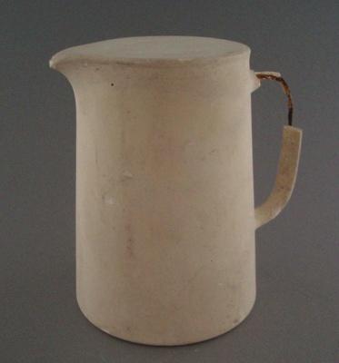 Plaster model - jug; Crown Lynn Potteries Limited; 1948-1989; 2008.1.2676